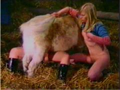 Lovely girls in farm sex video